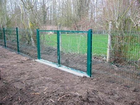 Pose des clôtures et portails en ille et vilaine